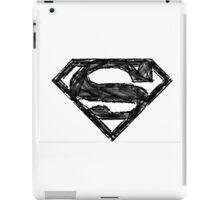 Superman Sketch iPad Case/Skin