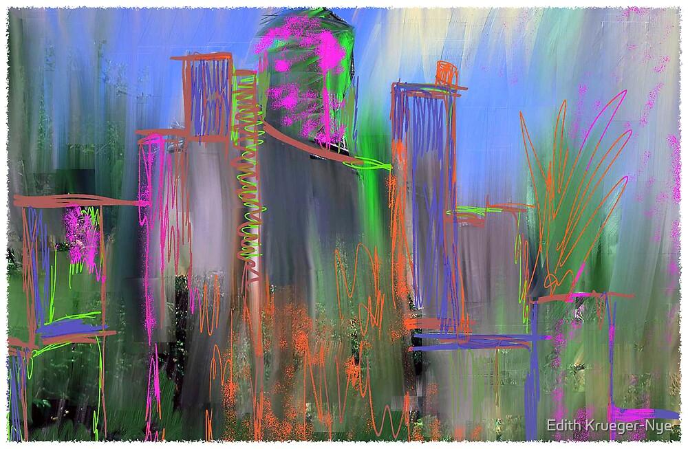 City, no windows by Edith Krueger-Nye