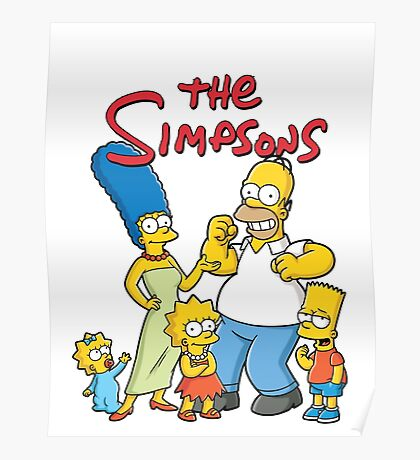 simpsons 1 Poster