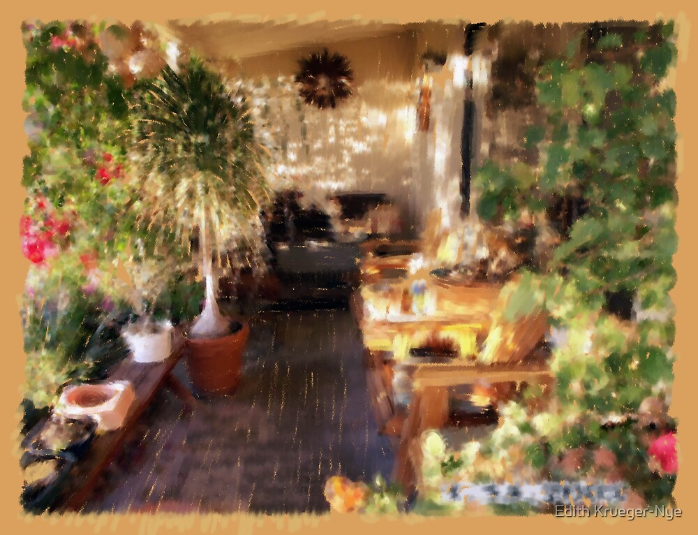My Porch2 by Edith Krueger-Nye