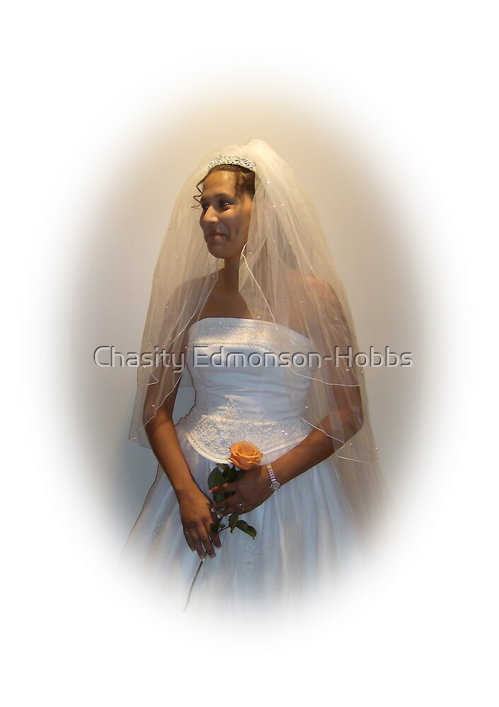 Bride in color by Chasity Edmonson-Hobbs
