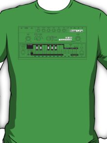 Tb-303 Bass-Line Tribute T-Shirt