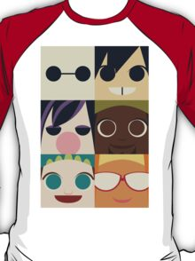 Big Hero Squares T-Shirt