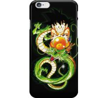 Guko and Dragon Ball  iPhone Case/Skin