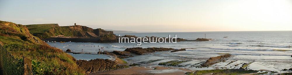 Summerleaze Beach, Bude by imageworld