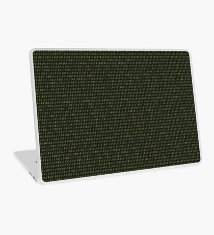 Binary Matrix Laptop Skin