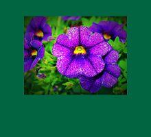 Purple lovers' flower T-Shirt