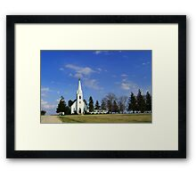 L'il Church on the Prairie Framed Print