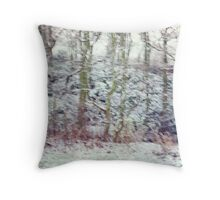 BLURRED I  Throw Pillow