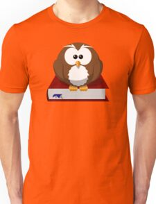 Graduate Owl Book Cartoon - Funny Education School College Graduation Student T Shirts And Gifts  Unisex T-Shirt