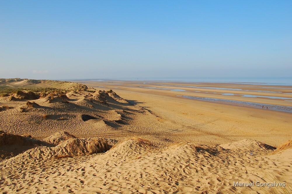 The beach by Manuel Gonçalves