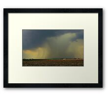 Into Every Life... Framed Print