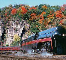 Norfolk & Western #611 - Eggleston, VA by TrainmasterBob