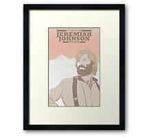 Jeremiah Johnson Framed Print