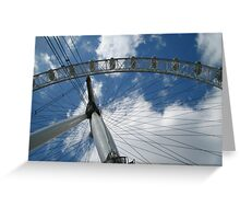 The British Airways London Eye and a Sunny May Sky :: London Greeting Card