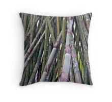 Bamboo 4 Throw Pillow