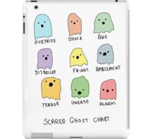 Scared Ghost Chart iPad Case/Skin