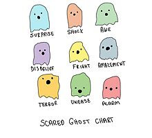 Scared Ghost Chart by cuddlesandrage
