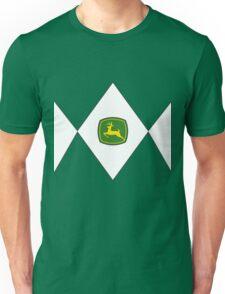 Mighty Morphin Power Rangers John Deere Unisex T-Shirt