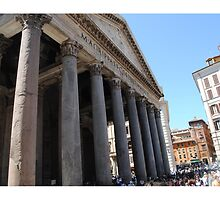 Pantheon in Rome by Tottobydesign