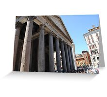 Pantheon in Rome Greeting Card