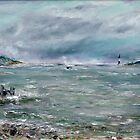 Chased home by storm. by Raymond  Hedley