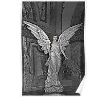 Angel Of Santo Domingo Church In Cuenca Poster
