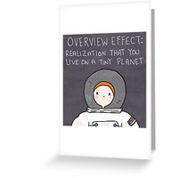 The Astronaut Greeting Card