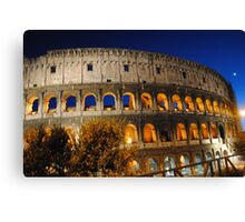 Colosseo Roma Canvas Print