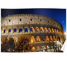 Colosseo Roma Poster