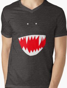 Spidey face Mens V-Neck T-Shirt
