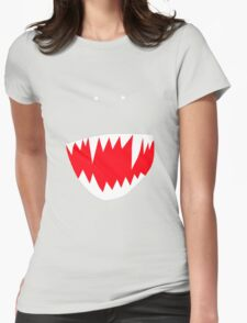 Spidey face Womens Fitted T-Shirt