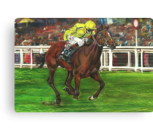 Rizeena's Ascot Win Canvas Print