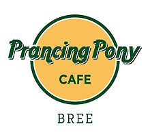 Prancing Pony Café (green / yellow / light) by sebisghosts