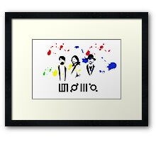 30STM Thirty seconds to mars Framed Print