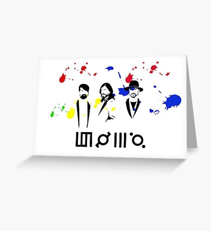 30STM Thirty seconds to mars Greeting Card