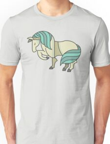 Cute Lovely Stylish Horse Drawing Cartoon - Adorable Horses T Shirts And Gifts Unisex T-Shirt