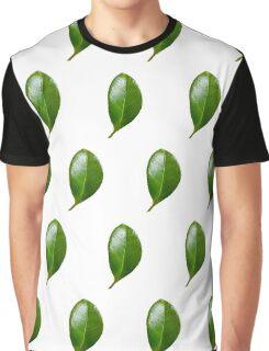 Fun green leaves Graphic T-Shirt