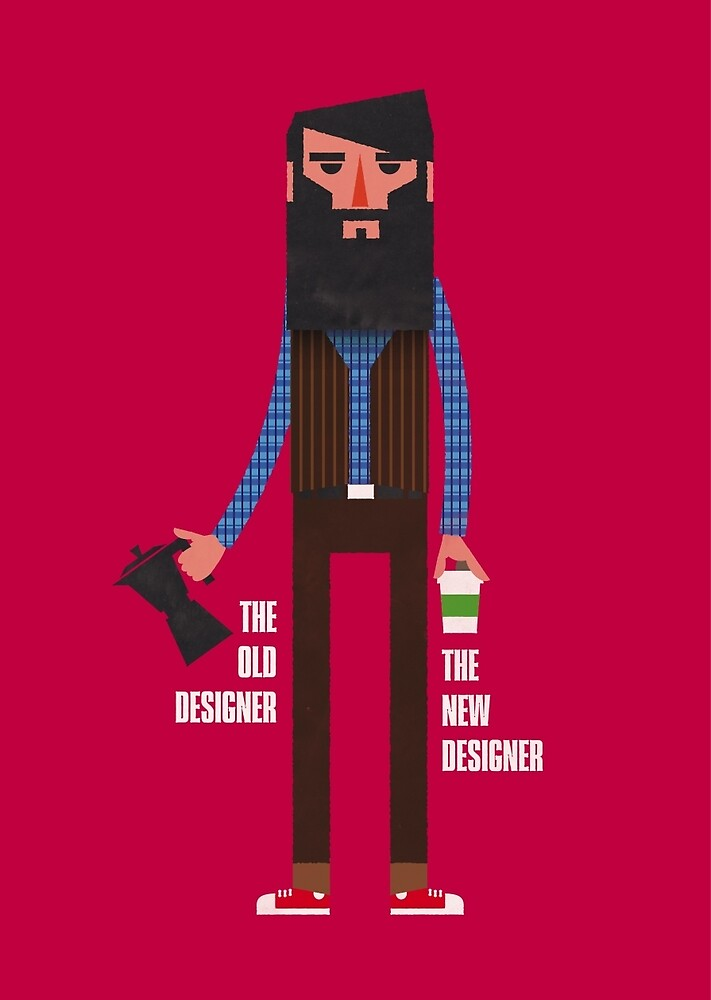 Old designer, new designer by Marco Recuero