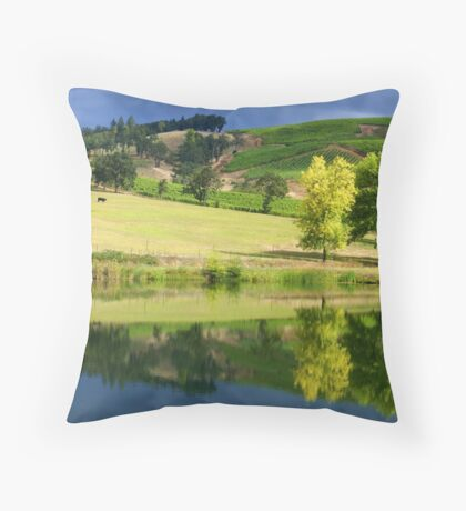 """""""Wine Country"""" Throw Pillow"""