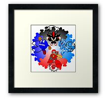 THE SUB-BOSSES OF GAMING Framed Print