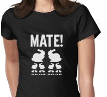 Mate Womens Fitted T-Shirt