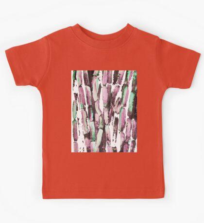 Purple Sugarcane on Greenery Kids Tee