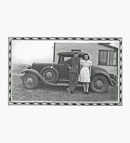 Back From WWII Photographic Print