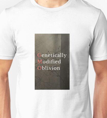 Genetically Modified Oblivion - Dark background Unisex T-Shirt