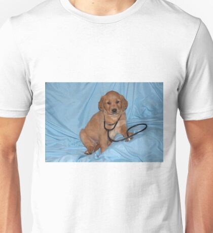 Max- The Puppy Love Doctor is IN Unisex T-Shirt