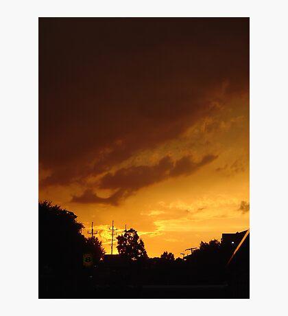 Orange Spice Photographic Print