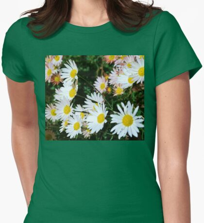 Smiles everyone, smiles! Womens Fitted T-Shirt