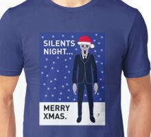 Doctor Who Silents Xmas Card Unisex T-Shirt