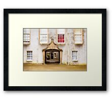 Leith Hall Architectural Details - (Huntly, Aberdeenshire, Scotland) Framed Print